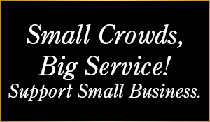 Small crowds, big service! Support small business. Erskine Floors & Interiors has been serving our local community since 1986