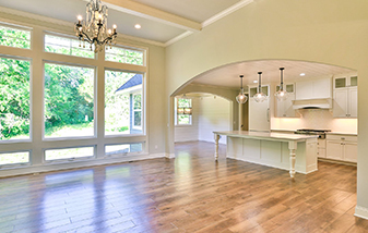Stunning floor to match the stunning view