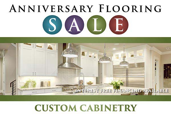 Custom Cabinetry Event - Interest Free Financing Available