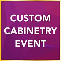 National Gold Tag Flooring Sale - Custom Cabinetry Event at Erskine Interiors